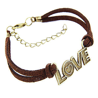 Classic LOVE Shape Men's Charm Bracelet(1 Pc)