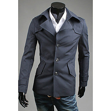 Men's Special Design Trench Coat