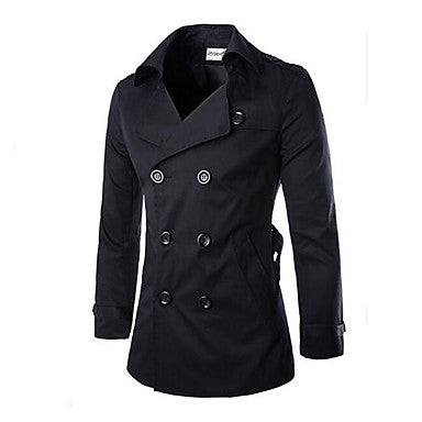 Men's Lapel Fashion Casual Cotton Coat