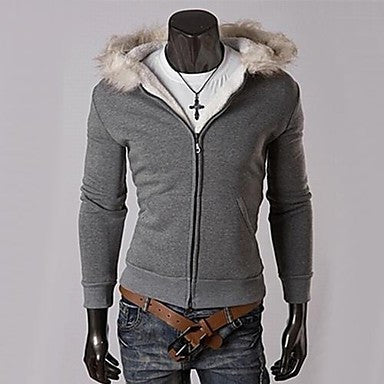 Men's Casual Fashion Sports Thick Hoodie