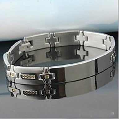Men's Fashion Personality High Grade Temperament Titanium Steel Bracelets