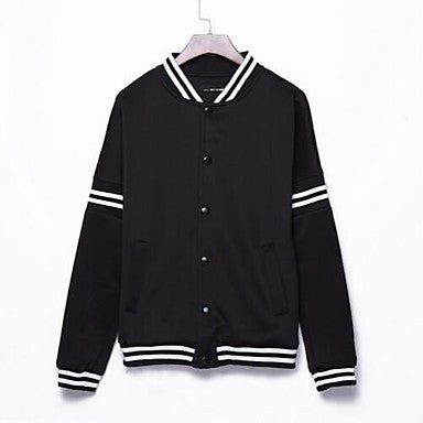 Men's Fall New Korean Style Casual Splicing Long Sleeve Jackets