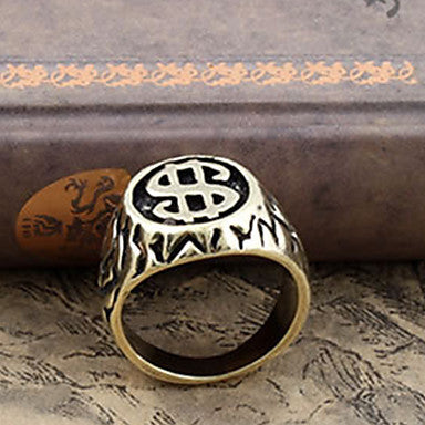 Men's Vintage $ Shape Band Rings