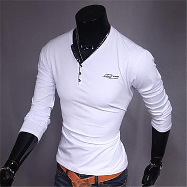 Men's Casual Fashion Slim T-Shirt