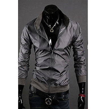 Men's Stylish Stand Collar Jacket