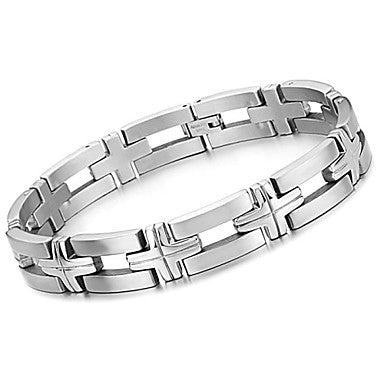 Men's Titanium Steel Fine Bracelet Between Fashion and Personality