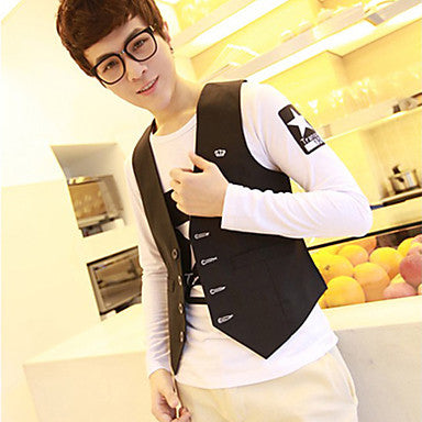 Men's Fashion Simple Causal Vest