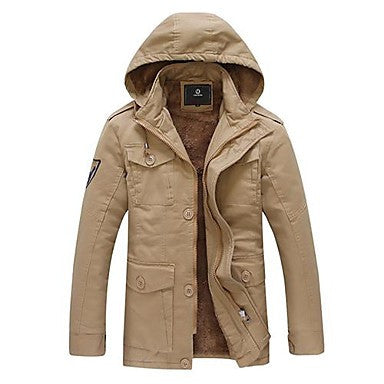 Men's Winter Warm Cotton Coat Thick Coat