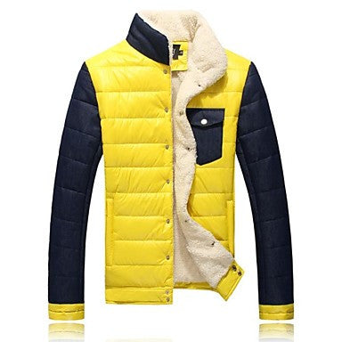 Men's Fashion Padded Thick Coat