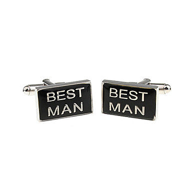 Best Man Style Cufflinks