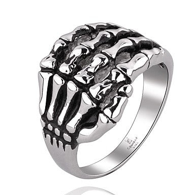 Terrorist Claws Super Cool Personality Man Titanium Steel Ring