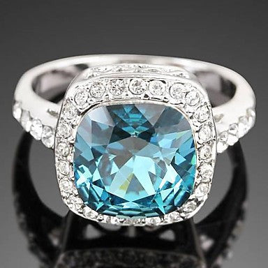 Fashion Zircon Men's Ring