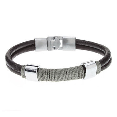 Double Layer Belt Buckle Bracelet