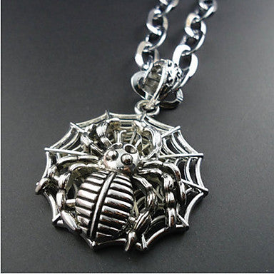 European Style Spider Pendant Necklace
