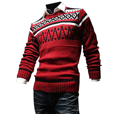 Men's Fashion Leisure New Knitting Sweater