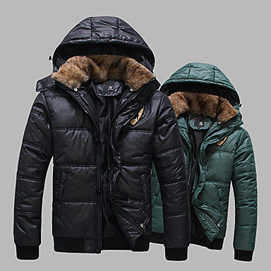 Men's Popular Casual Zipper Coat