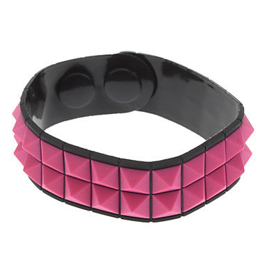(1 Pc)Fashion Unisex Silicon ID Bracelet