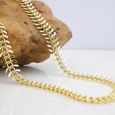 18K Gold Plated Luxury Centipede Copper Necklace