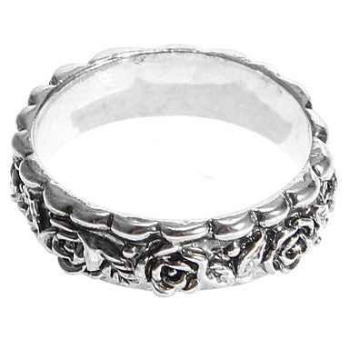 European Flower Band Rings(1 Pc)