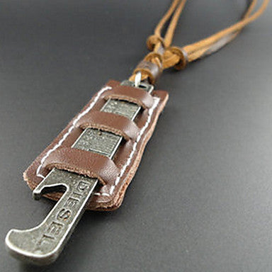 European Style Tool Shape Pendant Necklace
