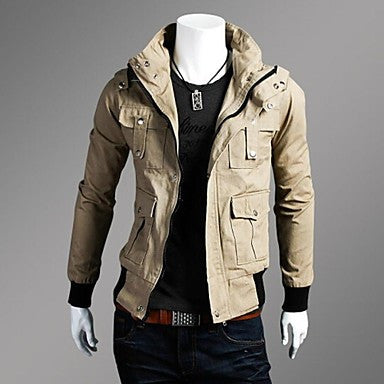 Men's Fashion Leisure Slim Jacket Coat
