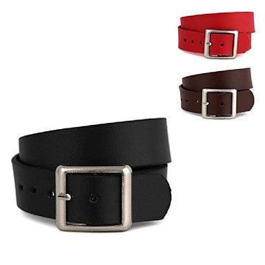 Unisex Simple Double Wrapped Leather Bracelet (1Pc)
