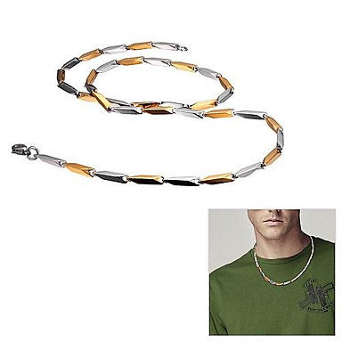 Men's Fashionable Stainless Steel Necklace (3MM 55cm)