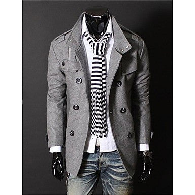Men's Fashion High-end Overcoat