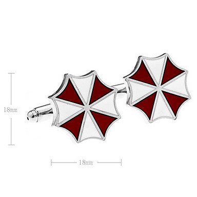 Men's Umbrella Flower Cufflinks(2 PCS)