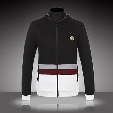 Men's Slim Hooded Zip Jacket(More Colors)