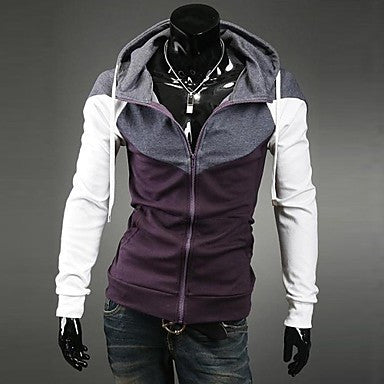 Men's Splice Hedging Slim Jacket