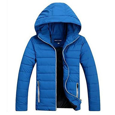 Men's Big Yards Winter Hooded Winter Jacket Outerwear