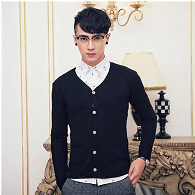 Men's Casual Fashion Slim Cardigan