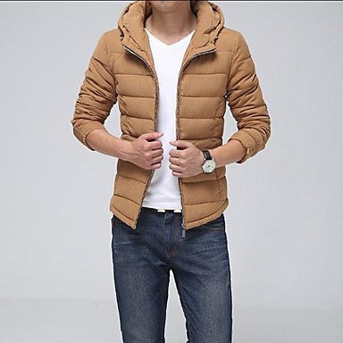 Men's Casual Fashion Han Edition Hooded Jacket