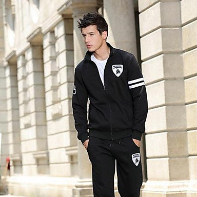 Men's Fashion Leisure Lovers Who Dress Suit