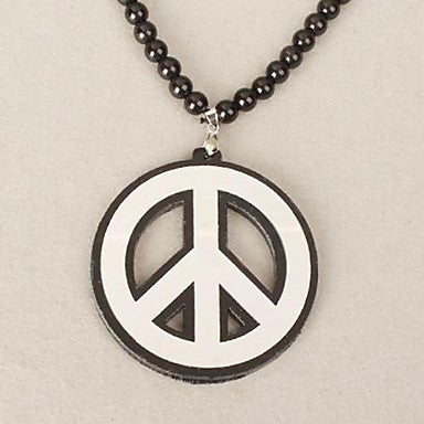 Peace Pattern Acrylic Necklace