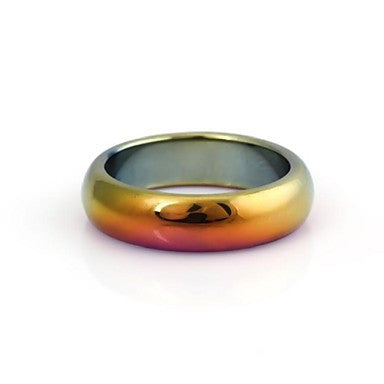 Men's Discoloration Artificial Gemstone Ring