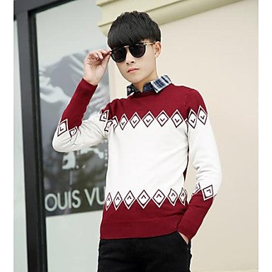 Men's Casual Slim Thick Sweater