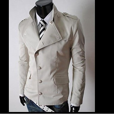 Men's Fashion Coat Casual Jacket Coat Outwear