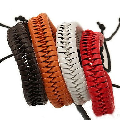The New European Style PU Braided Bracelet