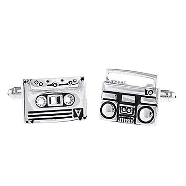 Men's Radio Square Cufflinks(2 PCS)