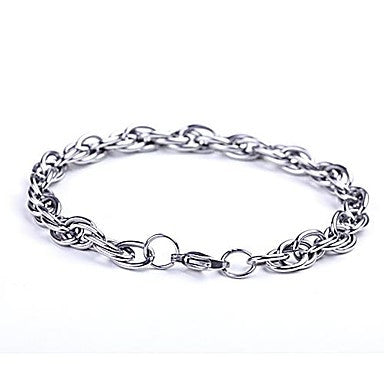 Mumar Fashionable Stainless Steel Bracelets Men's Jewelry
