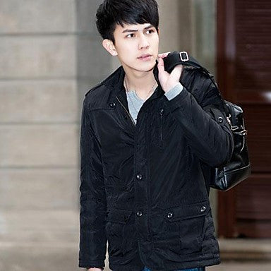 Men's Korean Style Slim Fashion Collar Coat