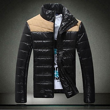 Men's European And American Fashion Thick Warm Jacket