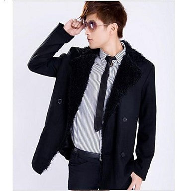 Men's Fashion Slim Trench Coat