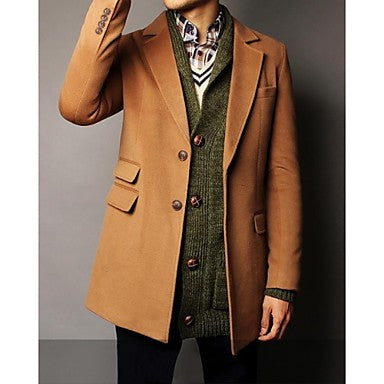 Men's High-end Overcoat