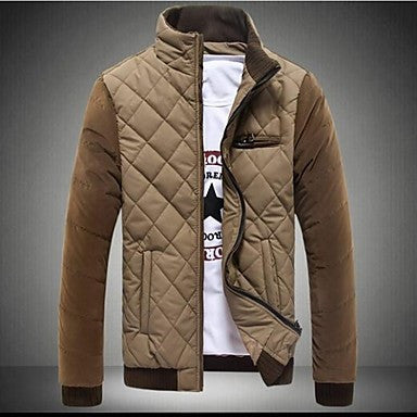 Men's Casual Cotton Padded Jacket