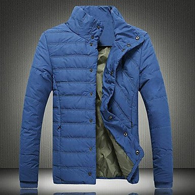 Men's New Winter Cotton-Padded Clothes Fashion Slim Coat
