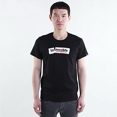 Men's Fashion Print T-Shirt