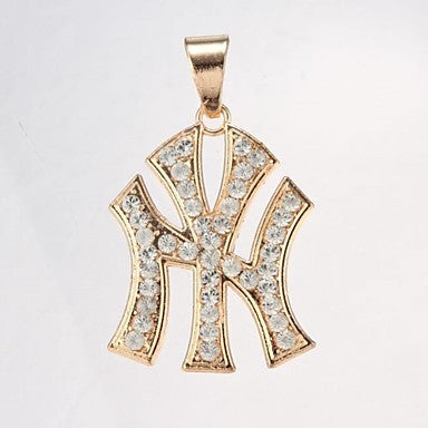 Jack Golden Unisex Diamond Pendant(Pendant Only)